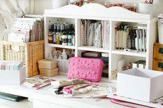 Ikea cabinet for craft supply storage