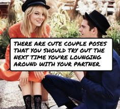 #There are cute couple poses that you should try out the next time you're…