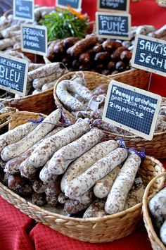 Sunday Market at L'Isle-sur-la-Sorgue by Cathy Chaplin | GastronomyBlog.com, via Flickr