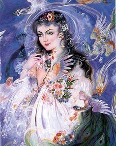 Persian Paintings of Tajvidi, Mohammad