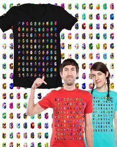 Maquinitas T-shirt // Arcade Little Machines T-shirt