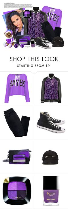 """sportowe"" by margo47 ❤ liked on Polyvore featuring Boohoo, Junya Watanabe, Avon, Converse, Jimmy Choo, Yeezy by Kanye West, L'Oréal Paris and BillyTheTree"
