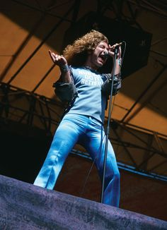 "Robert Plant, ""Day on the Green"" Festival, Oakland Coliseum 1977"