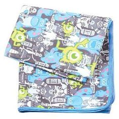 Bumkins Disney Splat Mat, Monsters Gray : Target