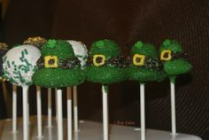 I Pop Cakes: St. Patrick's Day cake pops