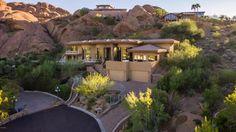 "Pin for Later: Swizz Beatz and Alicia Keys's Arizona Home Defines ""Oasis in the Desert""  Kristle Jensen via TreeHouse Realty LLC"