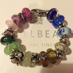 #rainbow #trollbead #trollbeads #beads #glass #silver #trollbeaduk #trollbeadsworldwide #hobby #collection