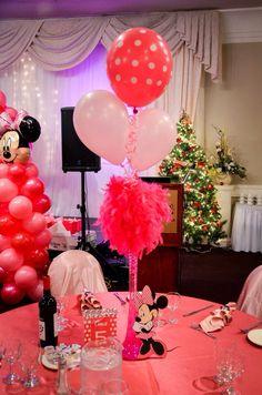Minnie Mouse centre pieces