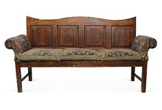 One Kings Lane - Celebrating 30 Years of Ralph Lauren Home - 19th-C. English Settee