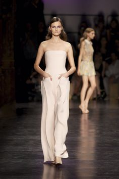 Wavy jumpsuit by Cacharel.