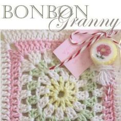 Instructions for a ♥Sweet BonBon Granny square created with Schachenmayr Catania. One of my all time fav yarns! Site is German, but there is a Google Translator that actually works! ¯_(ツ)_/¯