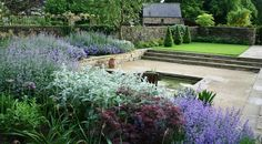 Barn Conversion Garden – this is lovely! :-)