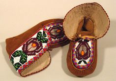 Beaded Moccasins 8 - Beadwork, Beading, Beaded Moccasins, First Nations, Bead Weaving, Weave, Arts And Crafts, Culture, How To Make