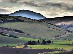 Lomond Hills from Norman's Law, Fife, Scotland