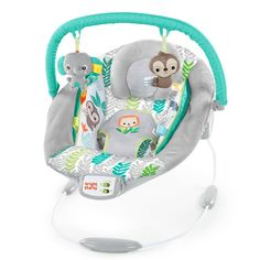 Bright Starts Cradling Bouncer Seat With Vibration And Melodies - Jungle Vines : Target Baby Boy Bouncers, Best Baby Bouncer, Baby Bouncer Seat, Baby Boy Or Girl, Baby Up, Baby Fever, Child Baby, Wild Child, Baby Swings