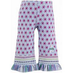 sun floral capri leggings ($17) via Polyvore