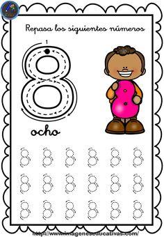 1 to 30 Numbers Line Study - Preschool Children Akctivitiys Shape Worksheets For Preschool, Shapes Worksheets, Numbers Preschool, Preschool Learning, Preschool Activities, Reading Cartoon, Line Study, Tracing Letters, Homeschool Kindergarten