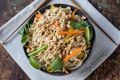 Portable Recipe: Cold Noodle Salad with Creamy Peanut Sauce — Recipes from The Kitchn