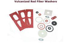 Vulcanized red fiber washers  #Vulcanizedredfiberwashers