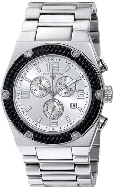 Swiss Legend Men's 40025P-22S-BB Throttle Analog Display Swiss Quartz Silver Watch >>> Be sure to check out this awesome watch.