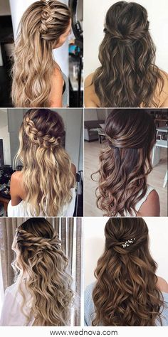 13 Super Charming Wedding Hairstyles for 2020 #wedding #weddinghairstyle #bridalhairstyle #bridalhair Wedding Trends, Wedding Designs, Wedding Styles, Wedding Ideas, Spring Wedding Decorations, Summer Wedding Colors, Dusty Rose Color, Blush Color, Color Plan