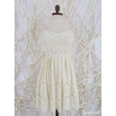 Altar'd State Country Girl Lace Dress Beautiful Strapless Lace Dresses. Has en elastic back with zipper. Altar'd State Dresses