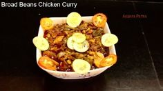 chikkudukaya chicken || Broad beans chicken ||