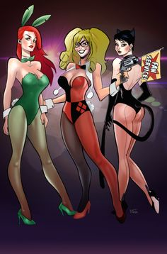 Gotham City Sirens by Terry Parr