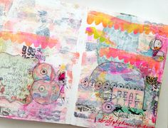 Rae Missigman ~ her favorite art journal page