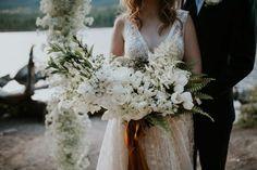 Romantic Copper Wedding Inspiration at Pyramid Lake