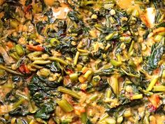 Kangkong is a South Asian vegetable that grows in the water and is called water spinach in English. Learn here how to use it to make a delicious curry!