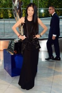 See Fashion's Biggest Stars at the 2014 CFDA Awards - Vera Wang from Cfda Awards, Red Carpet Dresses, Red Carpet Looks, Celebs, Celebrities, Vera Wang, Evening Gowns, Strapless Dress Formal, Nice Dresses