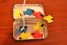 Bible Class Creations: Altoid Tin Fishing Game