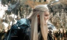 """""""...There is.. no Love.. in you!""""  Tauriel's accusation is the last thing Thranduil needs to hear on this day."""