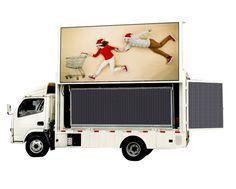 Portable LED Sign-Truck LED Display