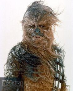 Chewbacca / Joonas Suotamo / Star Wars SW Cromos / El despertar de la Fuerza / The Force Awakens / 3ª Trilogía