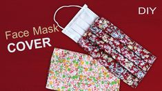 Easy Sewing Projects, Sewing Hacks, Sewing Tutorials, Sewing Patterns, Easy Face Masks, Diy Face Mask, Patchwork Quilt, Modelos 3d, Diy Mask