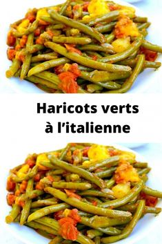 Senegalese Recipe, Vegan, Confectionery, Green Beans, Side Dishes, Chicken Recipes, Food And Drink, Pasta, Lunch