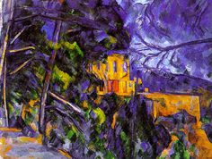 Le Chateau Noir by Paul Cezanne. Handmade oil painting reproductions for sale, Always custom made on premium grade canvas by talented artists. Marc Chagall, Paul Cezanne, Henri Matisse, Chaim Soutine, National Gallery Of Art, Oil Painting Reproductions, French Art, Oeuvre D'art, Monet
