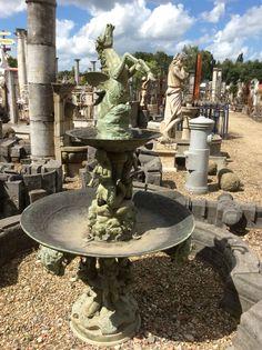 Bronzen Pegasus fontein .. Leuk ! Te koop bij Medussa Heist op den berg