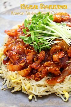 Hi guys! Today, I'm sharing delicious Korean Nakji Bokkeum which is Korean Spicy Stir-fried Small Octopus! Korean small octopus, Nakji is more famous(?) for their raw dish- San Nakji. You might saw them somewhere internet that chopped up small octopus are still moving on a serving dish… Yeah, if you are not Korean, it is...Read More »