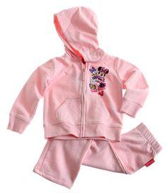 Ensemble jogging Disney Classic Daisy Minnie rose Survetement Enfant Fille par UnCadeauUnSourire.com