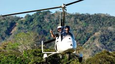 Costa Rica - Bert flies down the coast of the Nicoya Peninsula in his own personal gyrocopter! #TripFlip