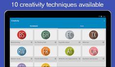 Creativity 앱 - 창의적 디자인 사고 지원 구글 플레이에서 Creativity 검색하면 Jolusan 제작자로 뜨는 앱이 있습니다.10가지 창의사고방법을 지원해주는 툴인데 유용하게 사용하면 디자인 아이디어 관리하고 공유하는데..좋을듯 합니다.
