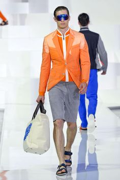 Dirk Bikkembergs Spring 2013 Menswear Collection - Fashion on TheCut