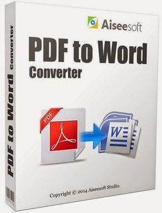 Aiseesoft PDF to Word Converter 3.2.20 With Reg is very popular and power converter for convert PDF file to Word file. You can easily, quickly and accurately convert any PDF file to editable word document file. You can get in word document all layer, text, image and others accurately of PDF file. #PDF_to_Word_Converter