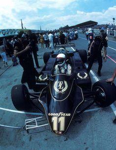 1982 GP Wielkiej Brytanii (Elio de Angelis) Lotus 91 - Ford