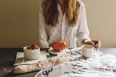 A designer couple and a award-winning design company from Turku, Finland. Matisse, Hemp Fabric, Elements Of Nature, Goods And Services, Tea Towels, Kitchenware, Design Inspiration, In This Moment, Pattern