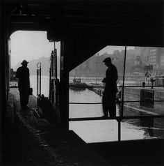 2000 Light Years From Home - Slussen, Sweden, 1952 © Gunnar Smoliansky Gelatin Silver Print, Light Year, Documentary Photography, Photomontage, Vintage Photographs, Black And White Photography, One Pic, Stockholm, Street Photography