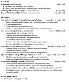 Counseling Resume Professional School Counselor Resume Guidance Sample  School .